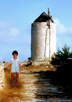 Syd Barrett in Formentera by Stanislav