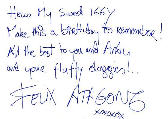 Happy Birthday, Iggy Rose!