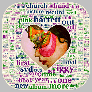 Holy Church Wordcloud. Artwork: Dolly Rocker. Concept: Felix Atagong.