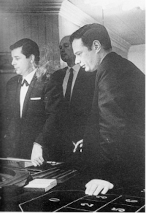 Brian Epstein at the roulette