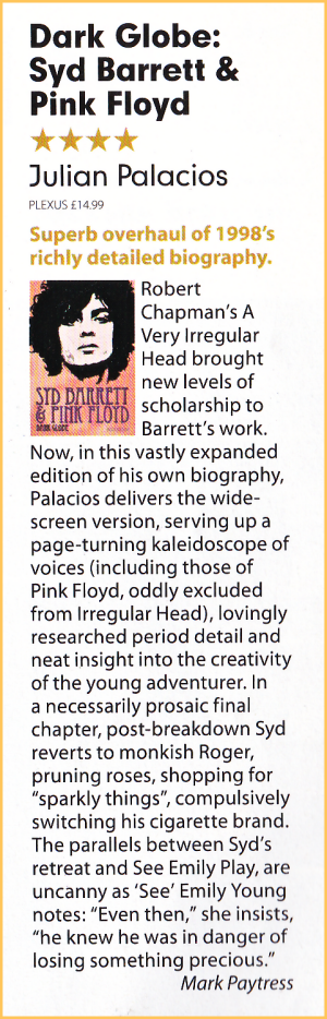 Mojo January 2011 review.