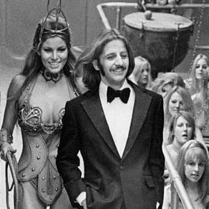 Raquel Welsh and Ringo Starr