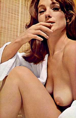 Shirley Anne Field by David Bailey, Playboy March 1966.