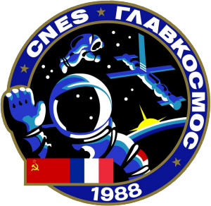 TM-7 mission patch