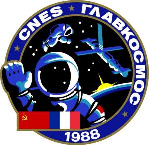 TM-7 mission patch
