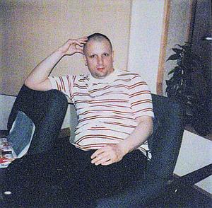 Syd Barrett, 7 July 1975. Picture: Nick Mason.