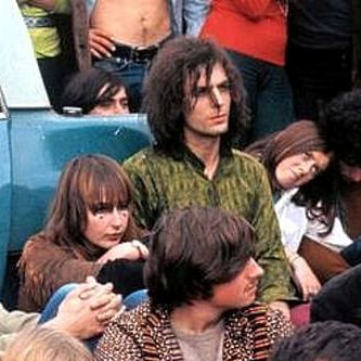 Syd Barrett with Gretta Barclay.