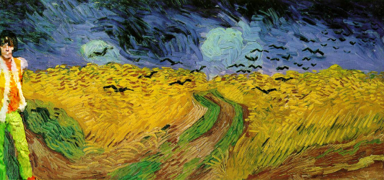 Van Gogh - Wheat Field with Crows (1890). Mashup: Felix Atagong.