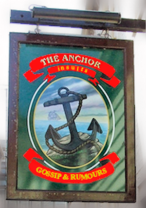 The Anchor: insults, gossip & rumours