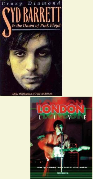 Book covers that picture Syd Barrett