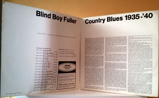 Country Blues (inside cover)
