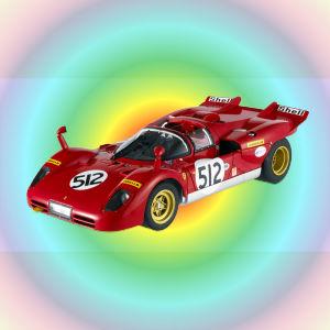 Nick Mason miniature car