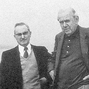 Leopoldo Duran with Graham Greene