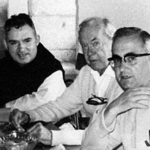 Graham Greene in Oseira
