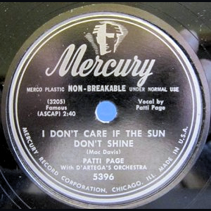 Patti Page single