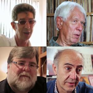 Duggie, Peter, Bill & Jean-Michel