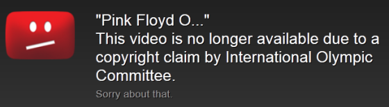 This video is no longer available due to a copyright claim by International Olympic Committee