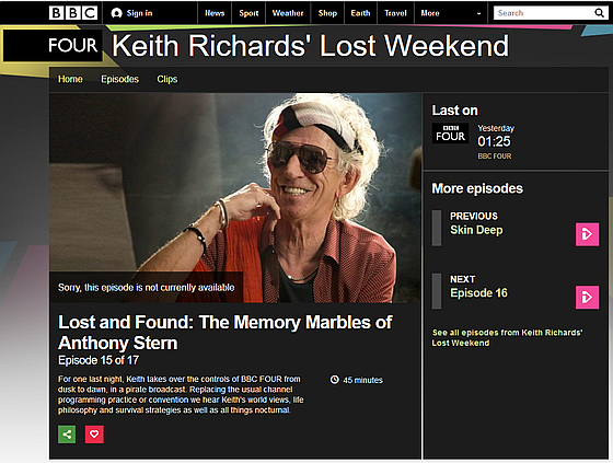 Lost and Found: The Memory Marbles of Anthony Stern