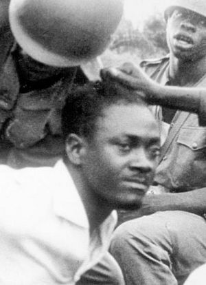 Lumumba arrested