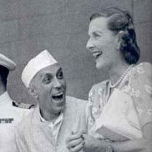 Jawaharlal Nehru and Edwina Cynthia Annette Mountbatten