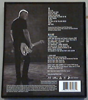 Rattle That Lock (back cover).