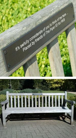 Syd's Bench