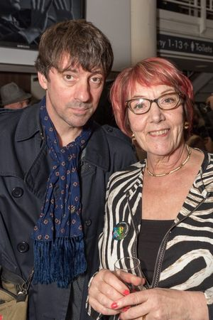 Graham Coxon and Rosemary Breen, Corn Exchange, Cambridge.