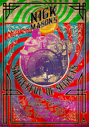 Nick Mason is alive and kicking allright.