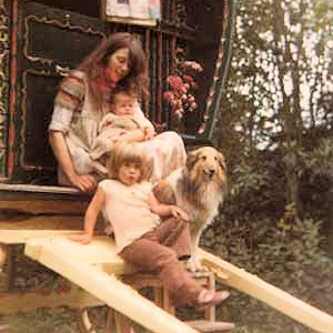 Vashti Bunyan, children and dog.