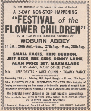 Festival of the Flower Children