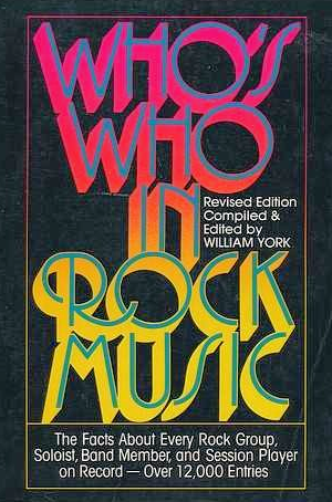 Who is Who in Rock Music