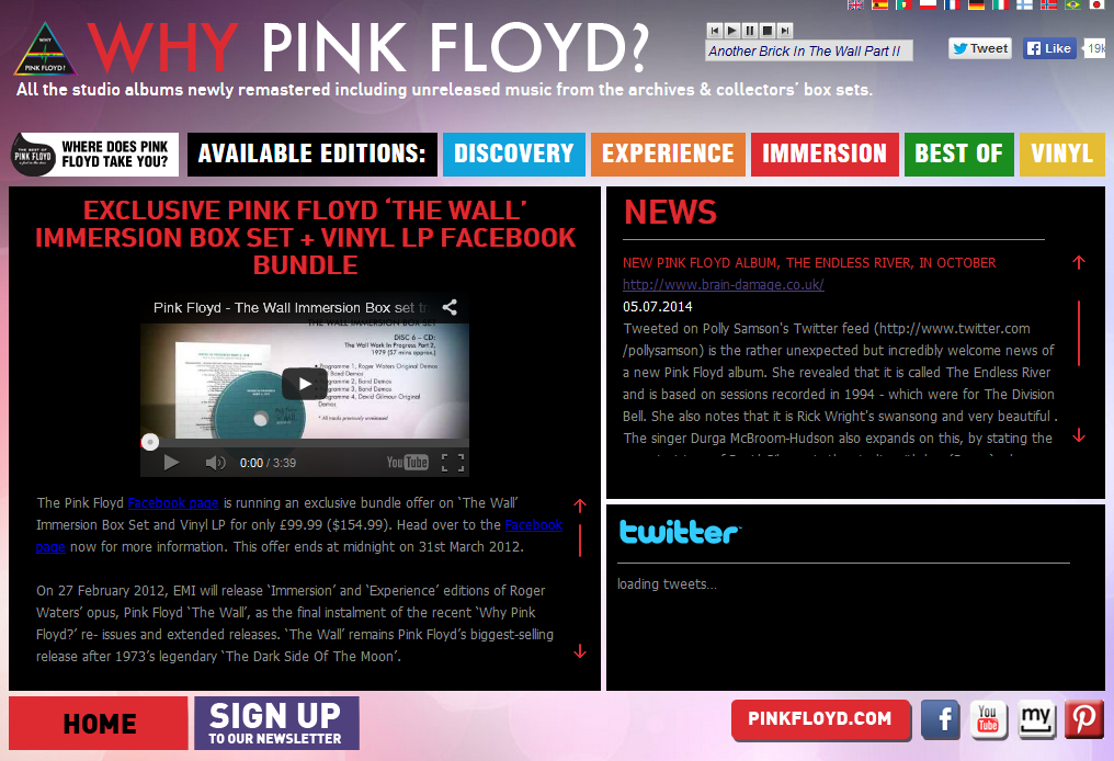 The Endless River announcement on Why Pink Floyd?
