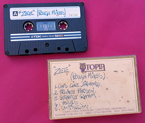 Zee Rough Mixes (original cassette)